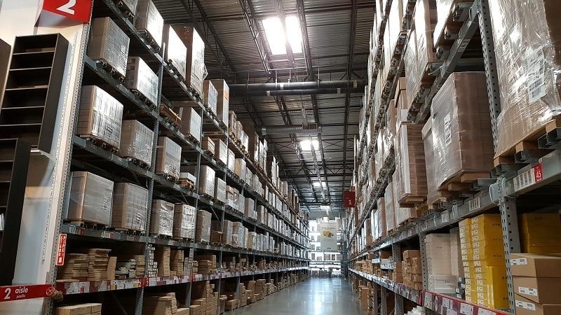 entrepôt pour constat de destruction de stocks et de marchandises