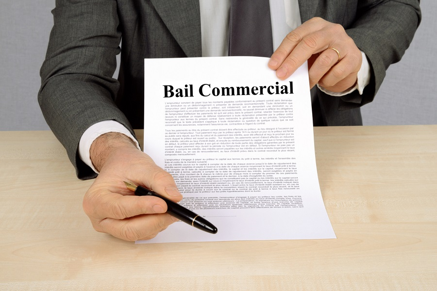 Signature du bail commercial
